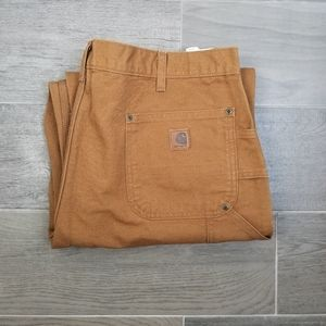 Carhartt Firm Double Front Dungaree Sz 40